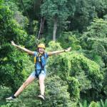 single-ziplining